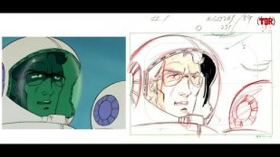 Bild aus Nihon Animator Mihonichi: 05: Yoshikazu Yasuhiko & Ichiro Itano: Collection of Key Animation Films